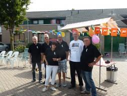 Team stempel- en verzorgingpost Skeelerronde 2014