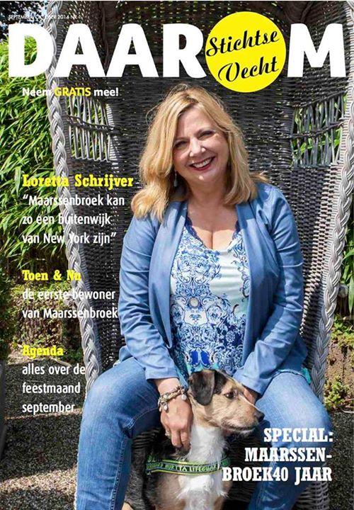 aug 2014: Magazine DAAROM Stichtse Vecht