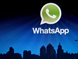 Whatsapp boven stad