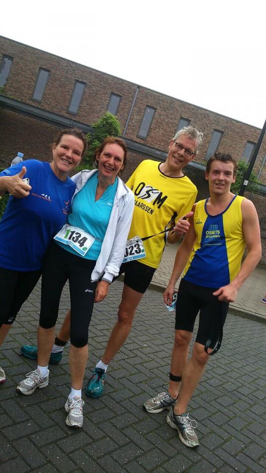 sep 2014:Valkenkamp Triatlon lopers