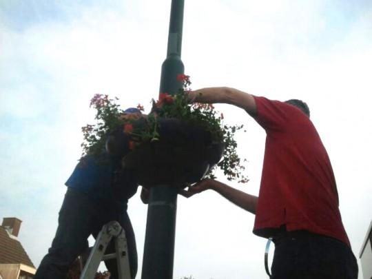 okt 2014: Hanging Baskets eraf