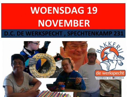 19 nov: Buurtmarkt in de Werkspecht