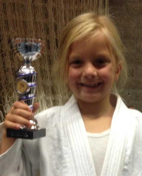 nov 2014: 7-jarige judoka uit Valkenkamp
