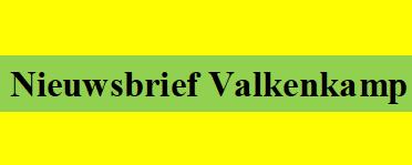november: Nieuwsbrief Valkenkamp