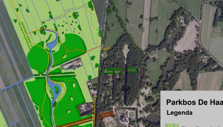 dec 2014: Start aanleg Parkbos De Haar