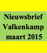 21 maart: nieuwsbrief Valkenkamp