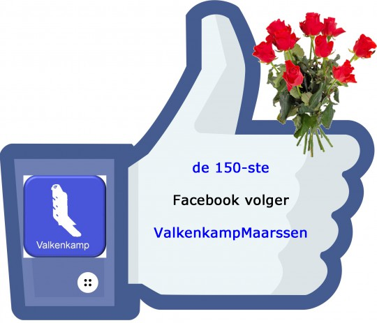 maart: 150 ste facebook volger