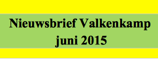 juni: Nieuwbrief Valkenkamp