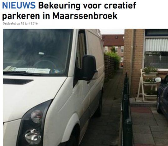 18 juni: Creatief parkeren in Valkenkamp