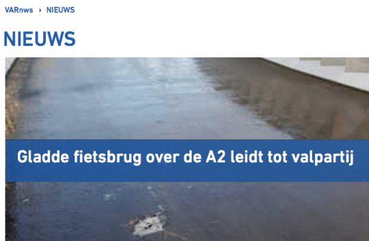 jan: Winters bericht over fietsbrug in Varnws