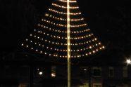 6 dec: Feestverlichting bij wijkingang