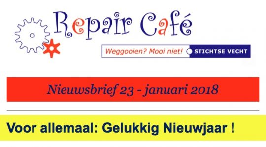 jan: Repair café in Werkspecht