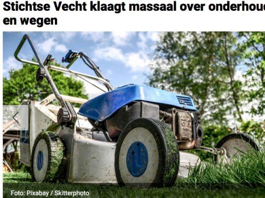 juni: Stichtse Vecht klaagt massaal over onderhoud groen en wegen