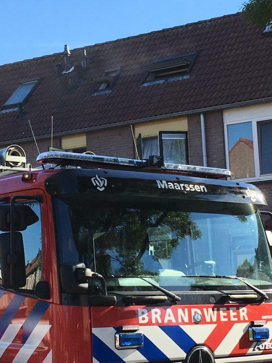 23 juli: Brand in woning Valkenkamp