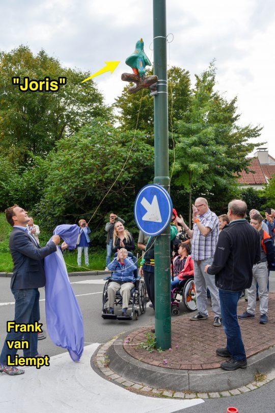 """31 aug: Onthulling kunstwerk """"Joris"""""""