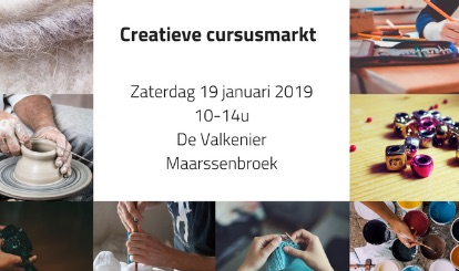 19 januari = Cursusmarkt in Valkenkamp