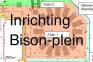 Inrichting Bison-plein