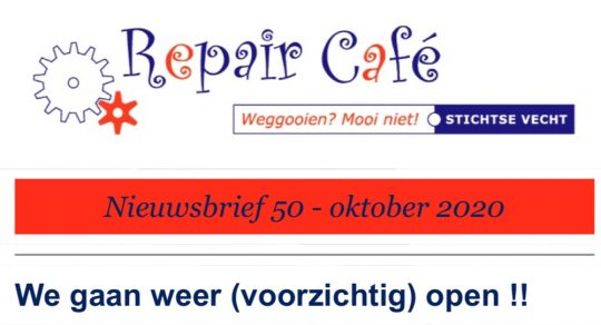 Repair Café start in Valkenier