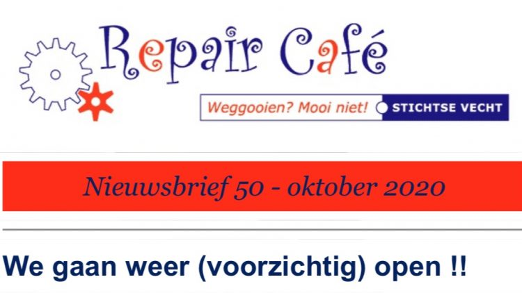 Repair Café start in Valkenier