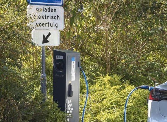 Verkeersbesluit parkeer plaatsen voor laden van elektrische auto's t.h.v. Valkenkamp 531