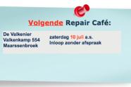 Repair Café weer open !