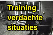 training 'herkennen van verdachte situaties'